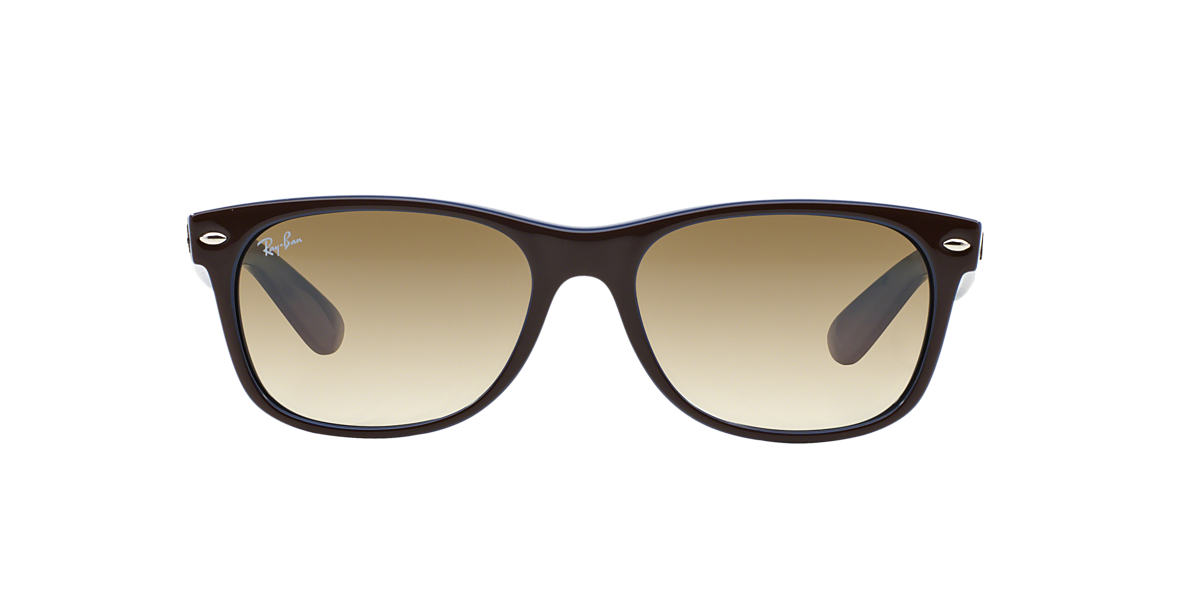 RAY-BAN Brown RB2132 55 NEW WAYFARER Brown lenses 55mm
