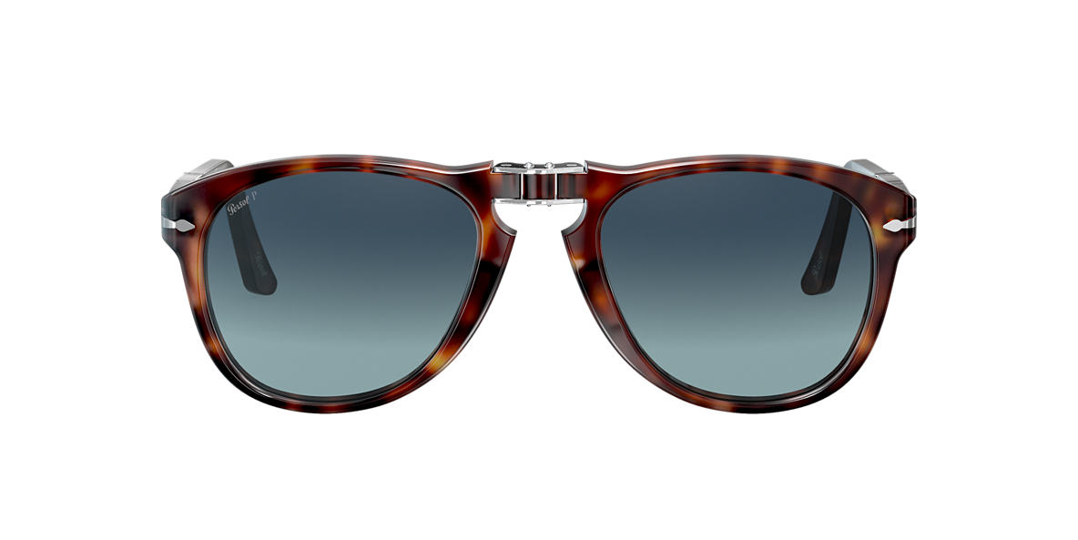 PERSOL Brown PO0714 54 Blue polarized lenses 54mm