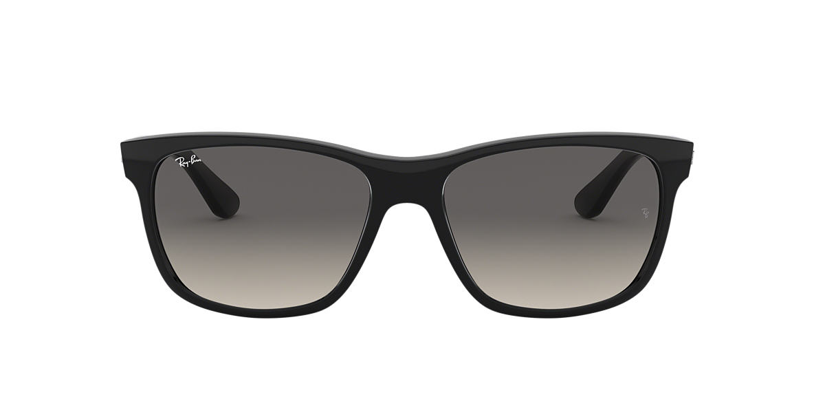 RAY-BAN Black RB4181 57 Grey lenses 57mm
