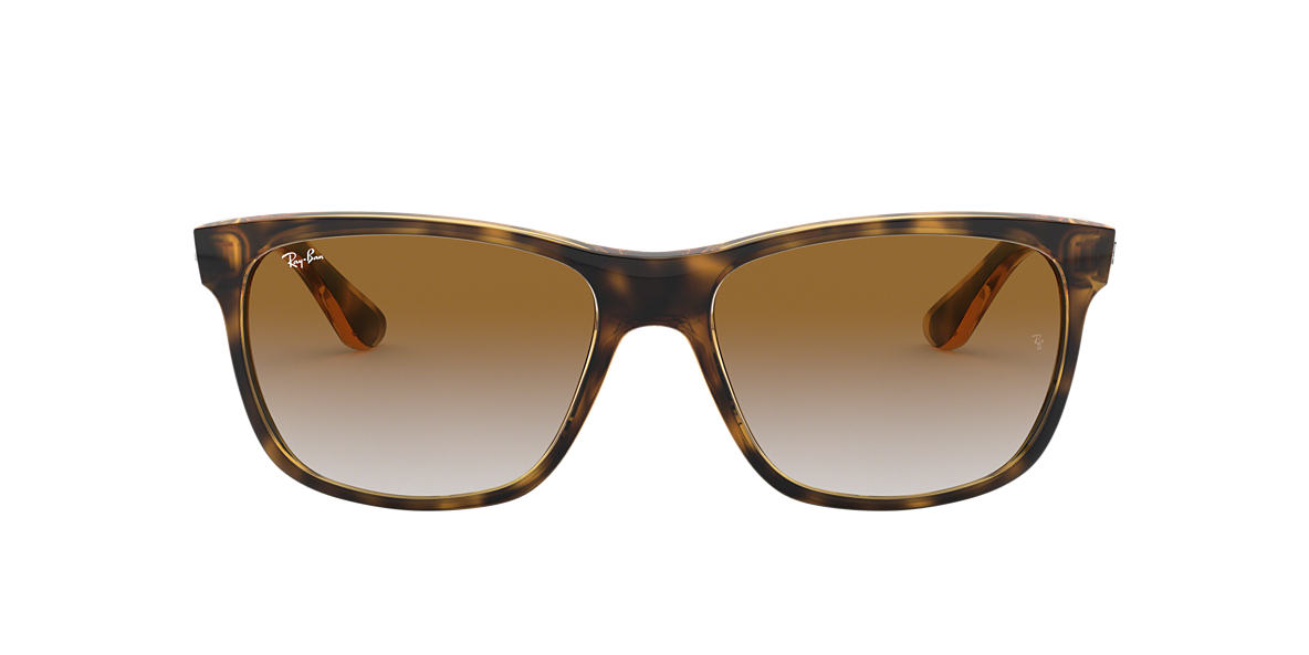 RAY-BAN Tortoise RB4181 57 Brown lenses 57mm
