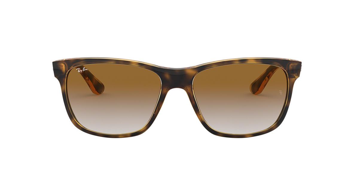 RAY-BAN Tortoise RB4181 Brown lenses 57mm
