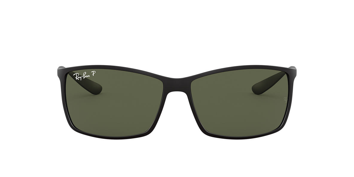 RAY-BAN Black Matte RB4179 62 LITEFORCE Grey polarized lenses 62mm