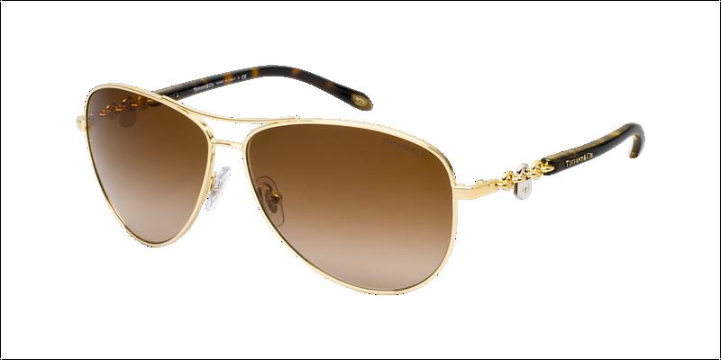 98f1822c0fa TIFFANY Sunglasses TF 3034 60023B Gold 60mm