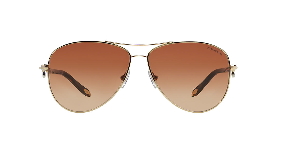 TIFFANY Gold TF3034 Brown lenses 60mm