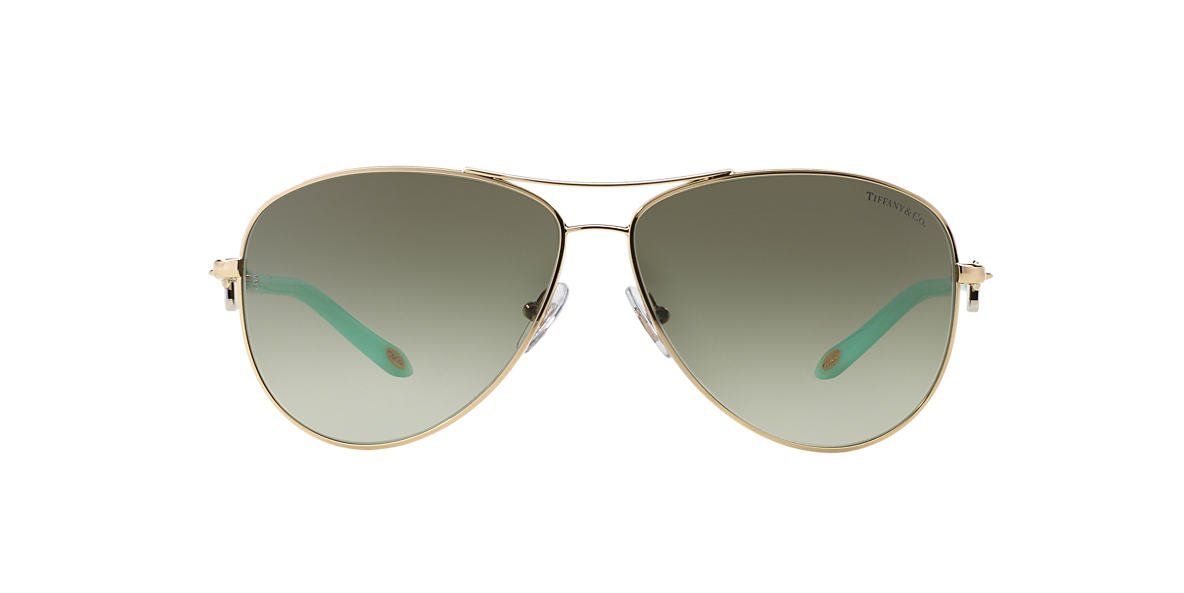 TIFFANY & CO Gold TF3034 Grey lenses 60mm