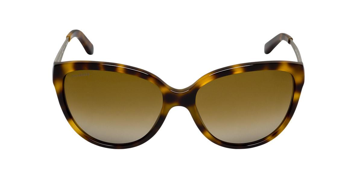RALPH LAUREN Yellow RL8079 Brown polarized lenses 58mm
