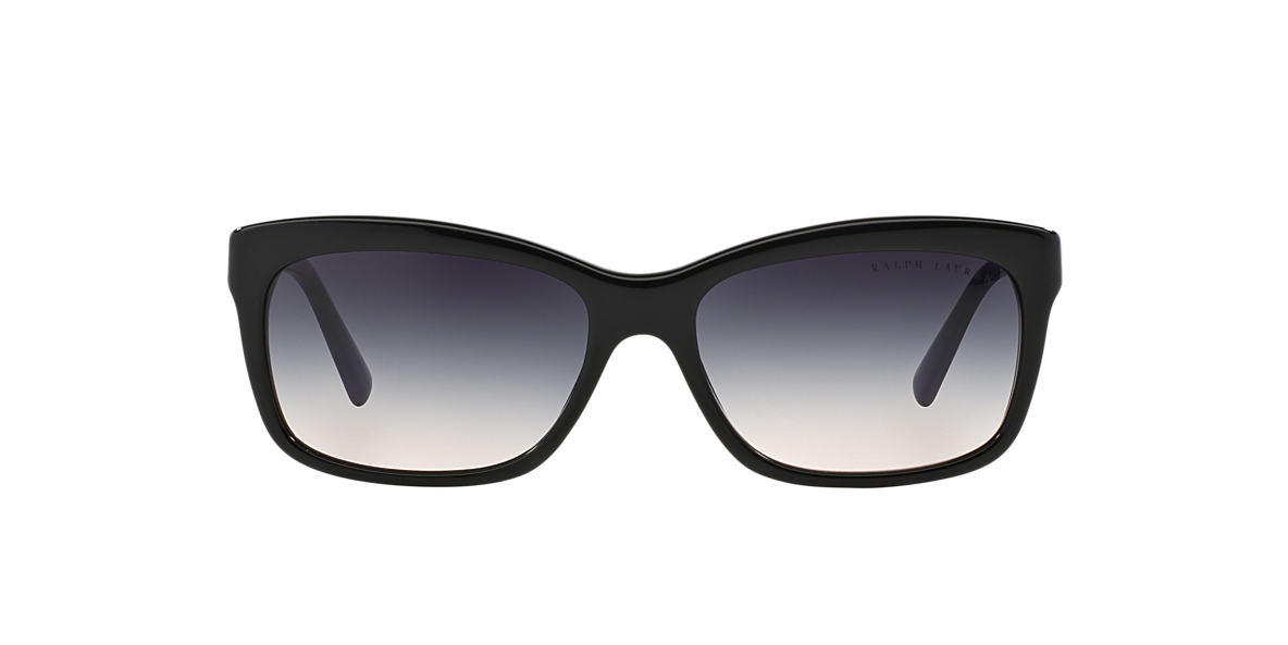 RALPH LAUREN Black RL8093 Grey lenses 56mm