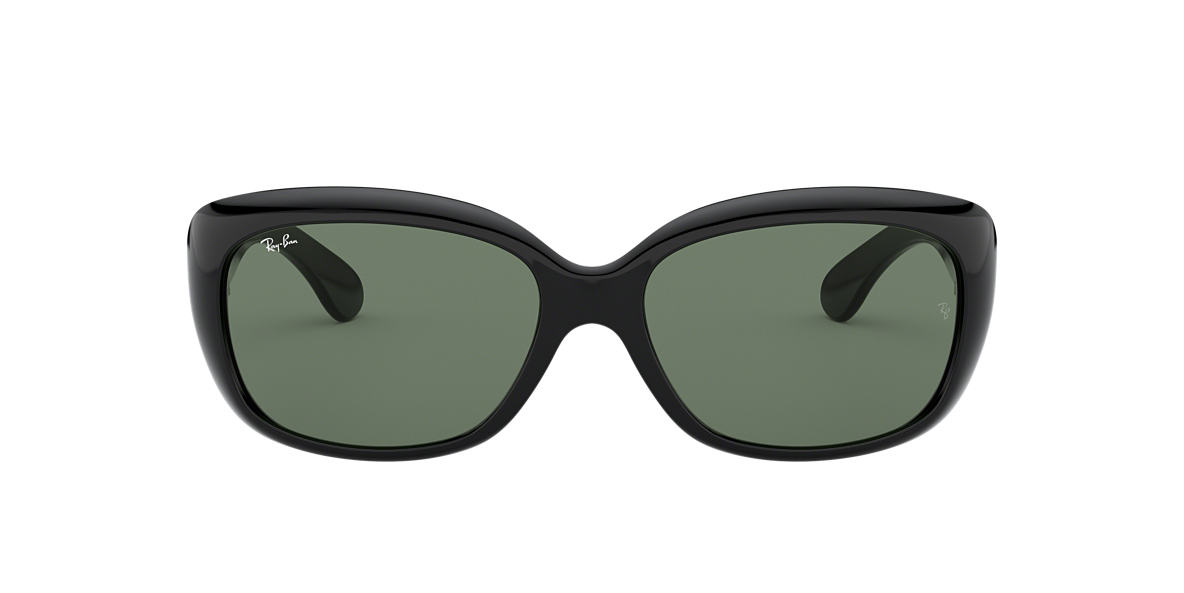 RAY-BAN Black RB4101F Green lenses 58mm