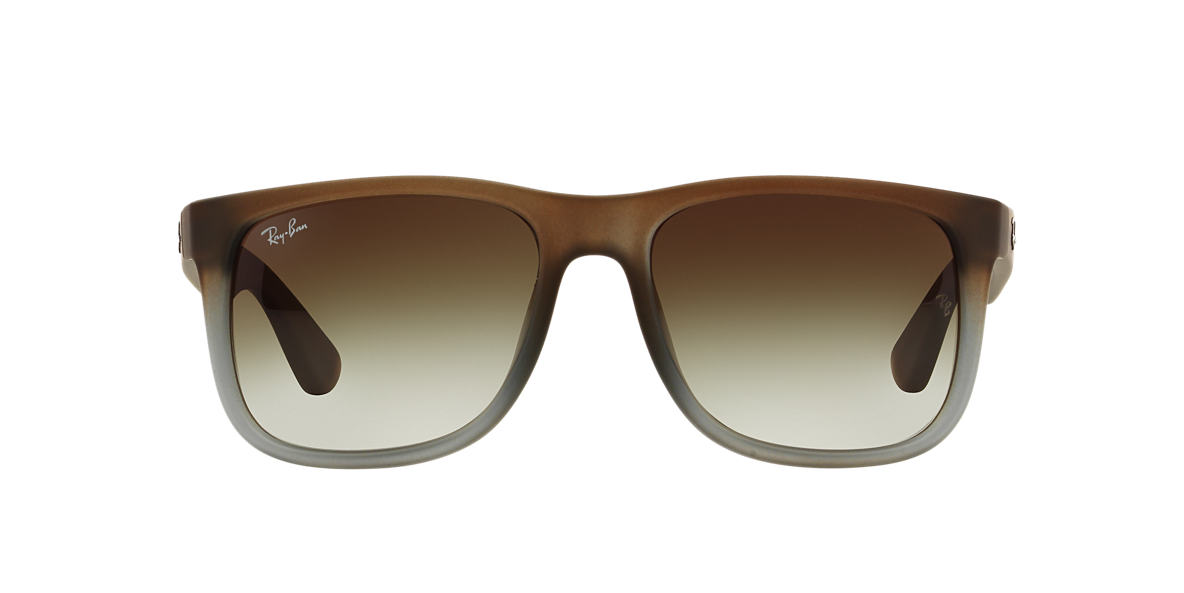 RAY-BAN Brown RB4165F Green lenses 55mm