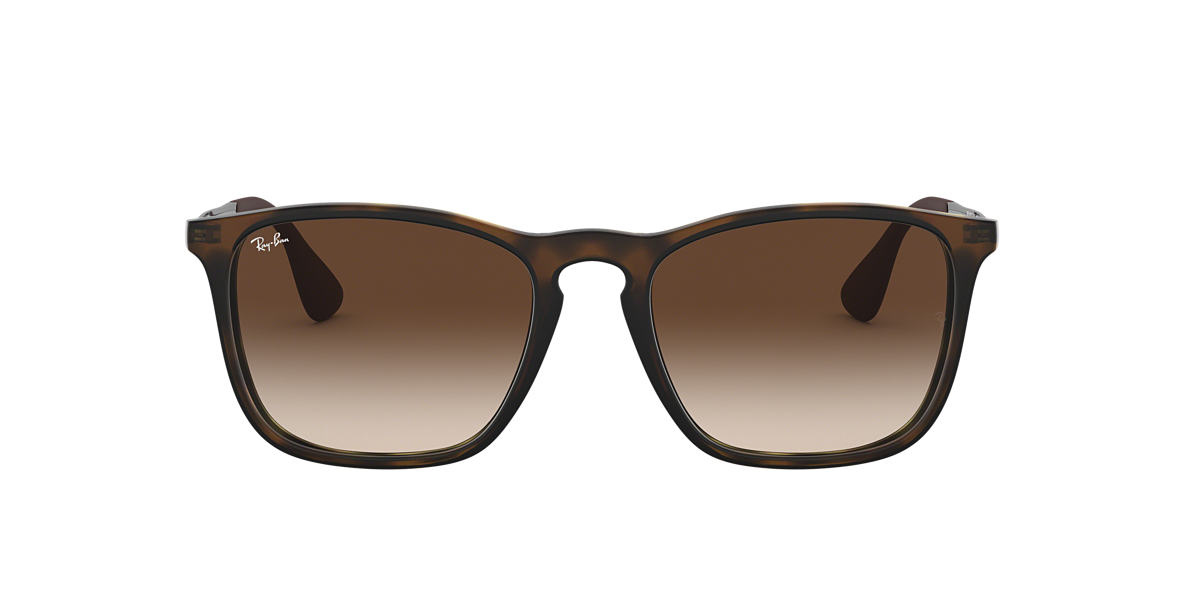RAY-BAN Tortoise RB4187 Brown lenses 54mm