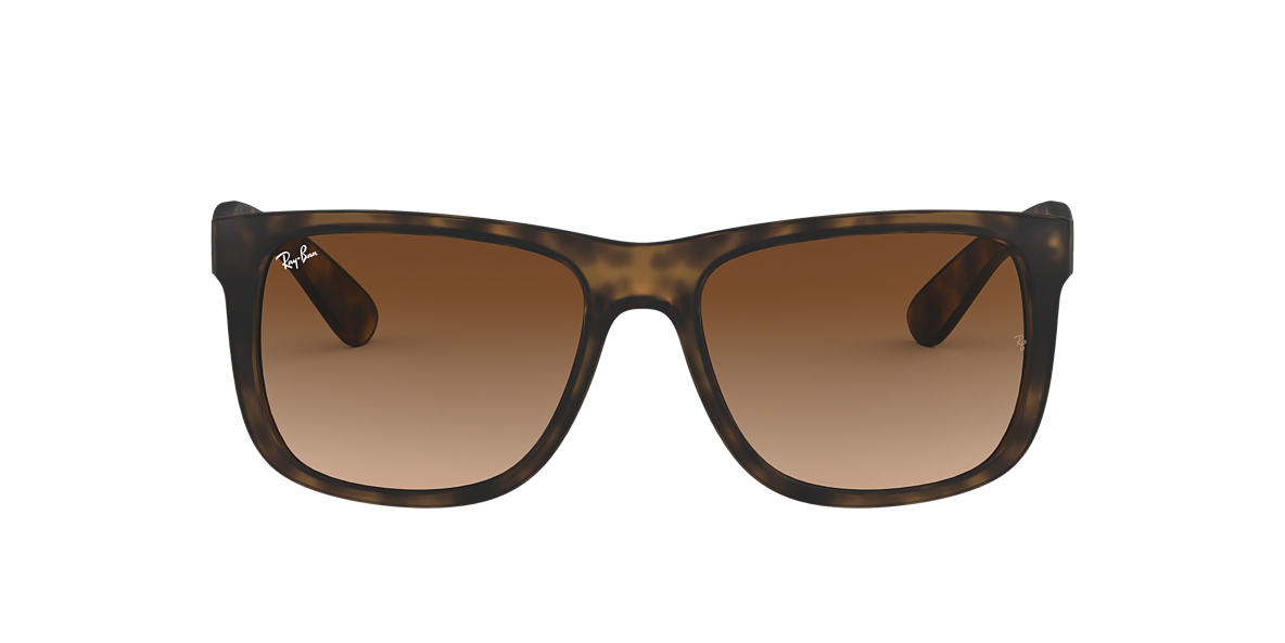 RAY-BAN Tortoise Matte RB4165 54 JUSTIN Brown lenses 51mm