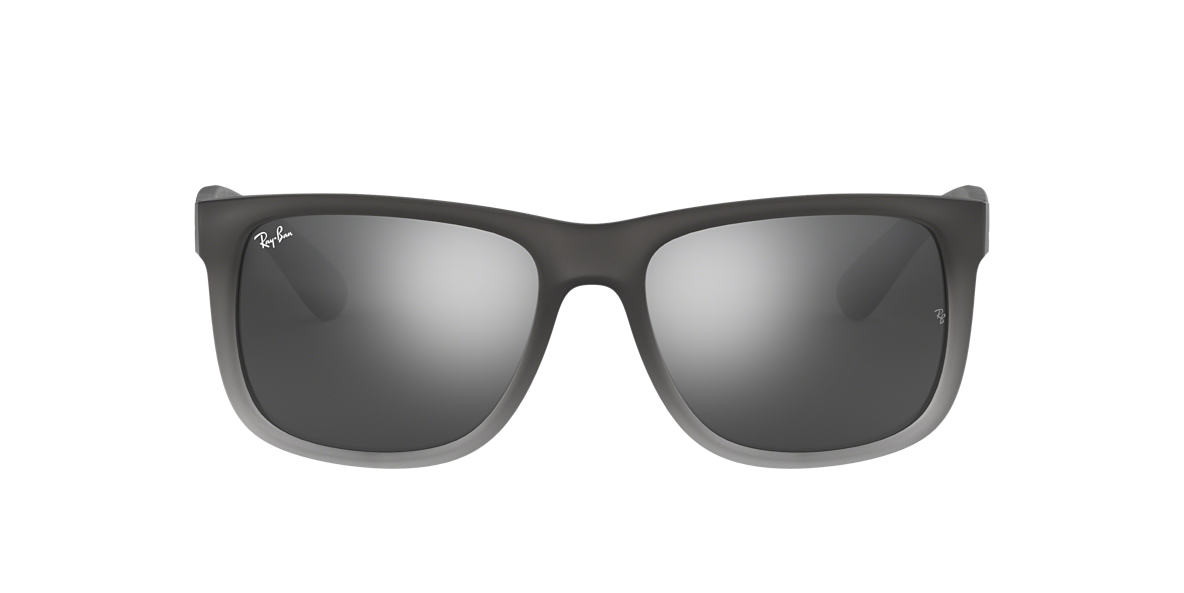 RAY-BAN Silver RB4165 Grey lenses 51mm