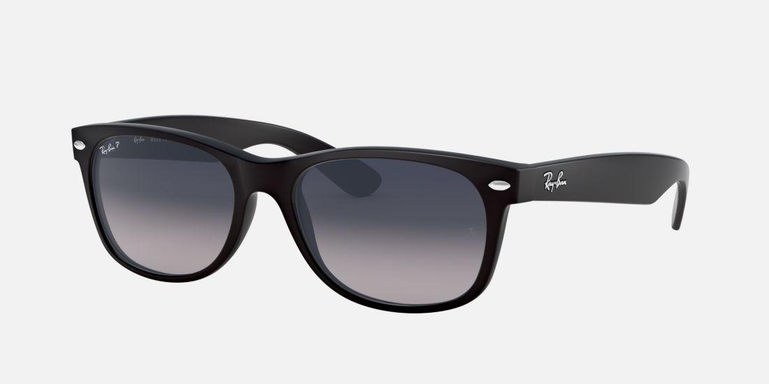 black matte ray ban sunglasses