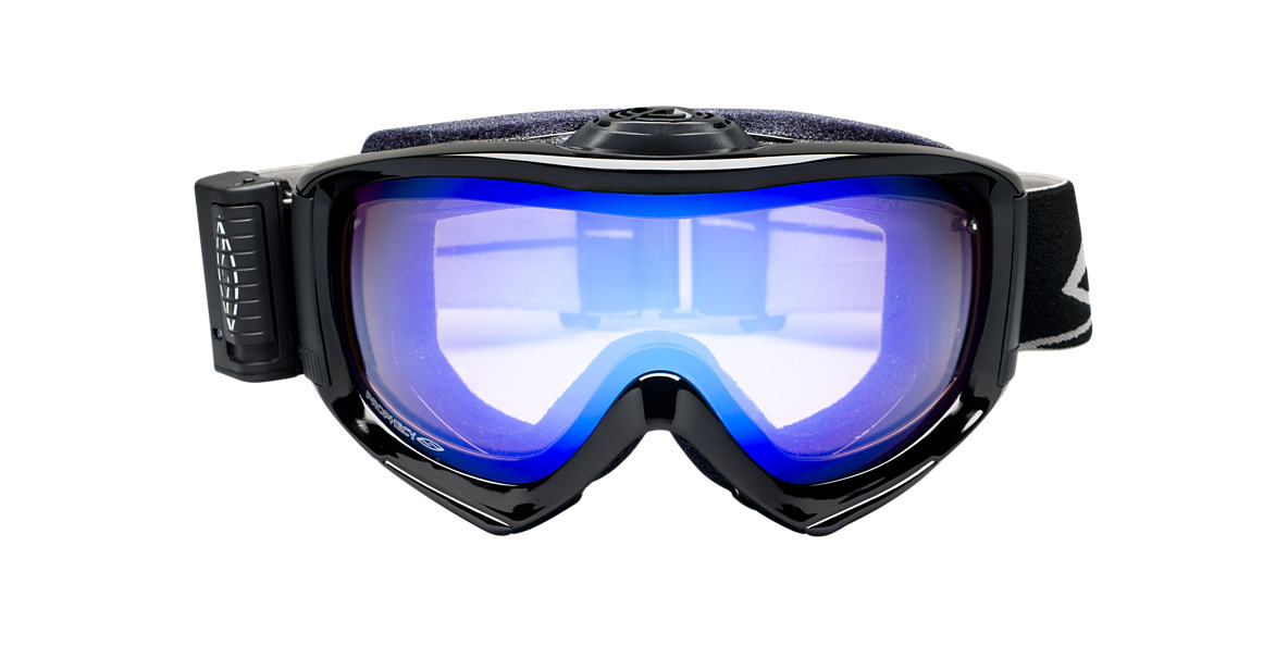 SMITH OPTICS GOGGLES Black Shiny PROPHECY TURBO FAN Blue lenses mm