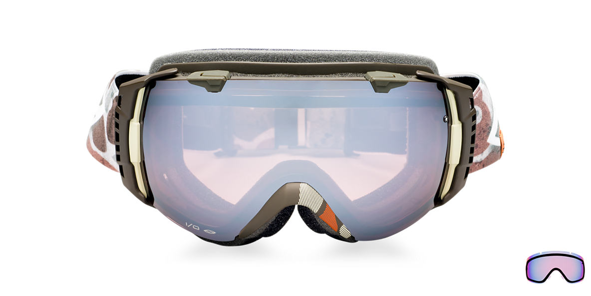 SMITH OPTICS GOGGLES Multicolor I/O LAGO DUCK CAMO Pink lenses mm