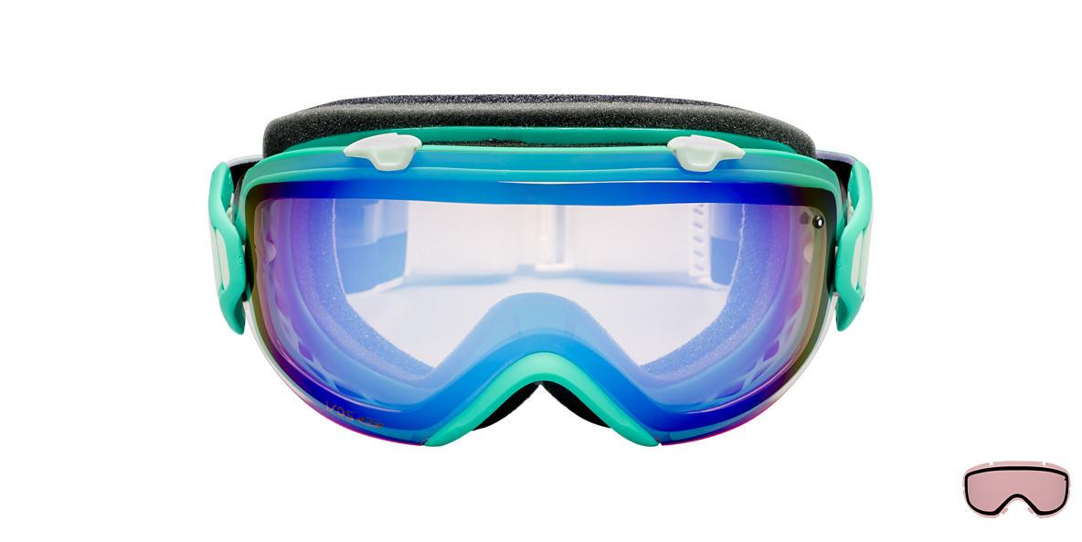 SMITH OPTICS GOGGLES Green I/OS JADE OMEGA Blue lenses mm