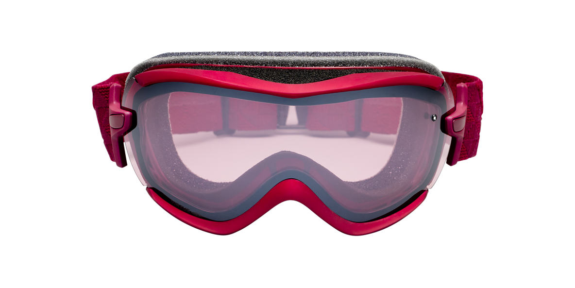SMITH OPTICS GOGGLES Red VIRTUE MERLOT MOTIF Pink lenses mm