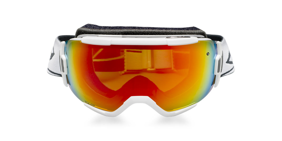 SMITH OPTICS GOGGLES White VICE Red lenses mm