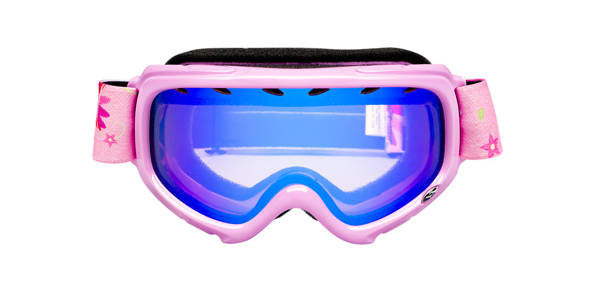 SMITH OPTICS GOGGLES Pink GAMBLER Blue lenses mm