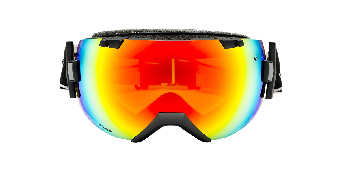SMITH OPTICS GOGGLES Black I/OX Red lenses mm