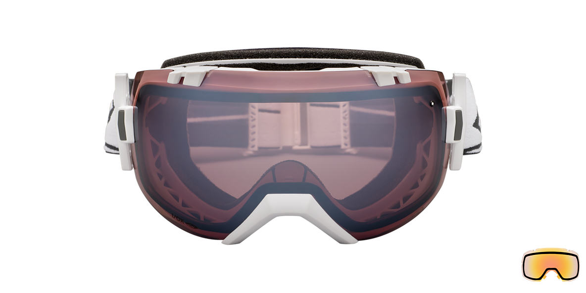 SMITH OPTICS GOGGLES White I/OX Pink lenses mm