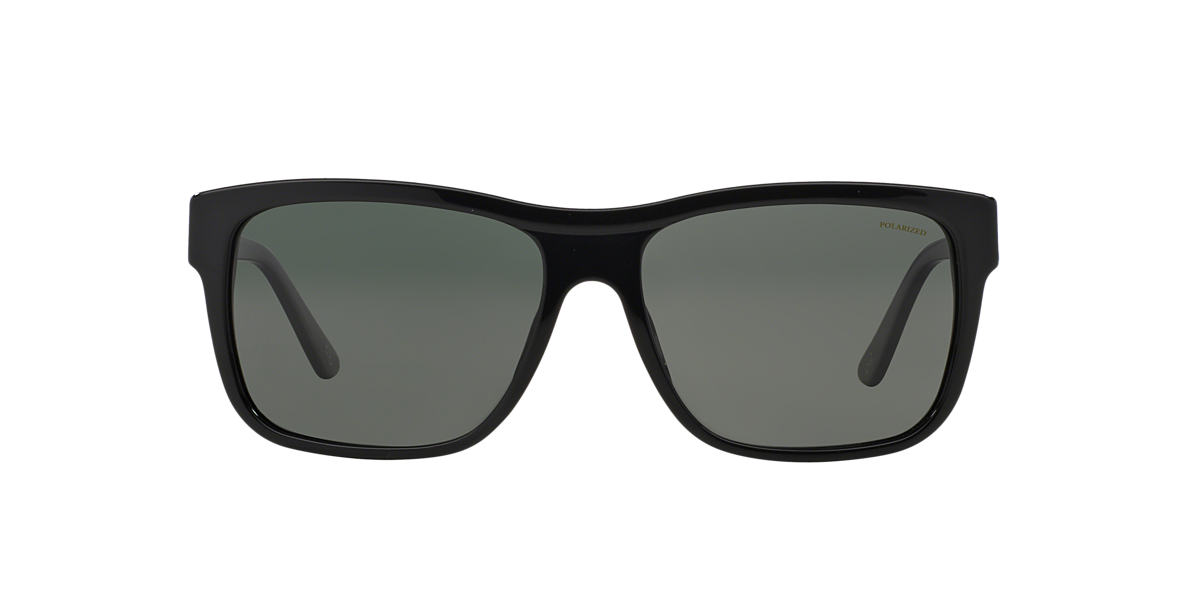 VERSACE Black VE4179 Green polarized lenses 60mm