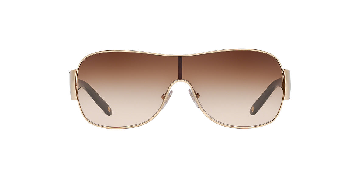 VERSACE Gold VE2101 Brown lenses 36mm