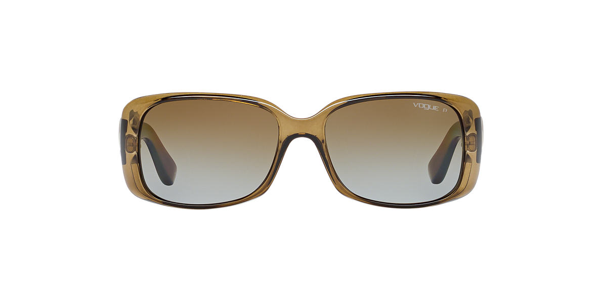 VOGUE LINE Green VO2663S Brown polarized lenses 57mm