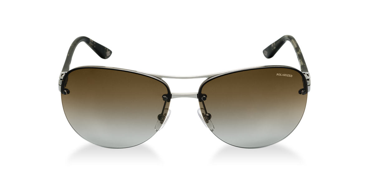 VERSACE Gunmetal VE2139 Brown polarized lenses 60mm