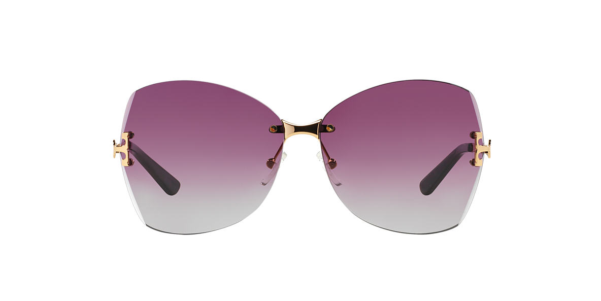 TORY BURCH Gold TY6030 Purple lenses 61mm