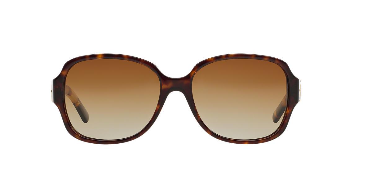 TORY BURCH Tortoise TY7073 57 Brown polarized lenses 57mm