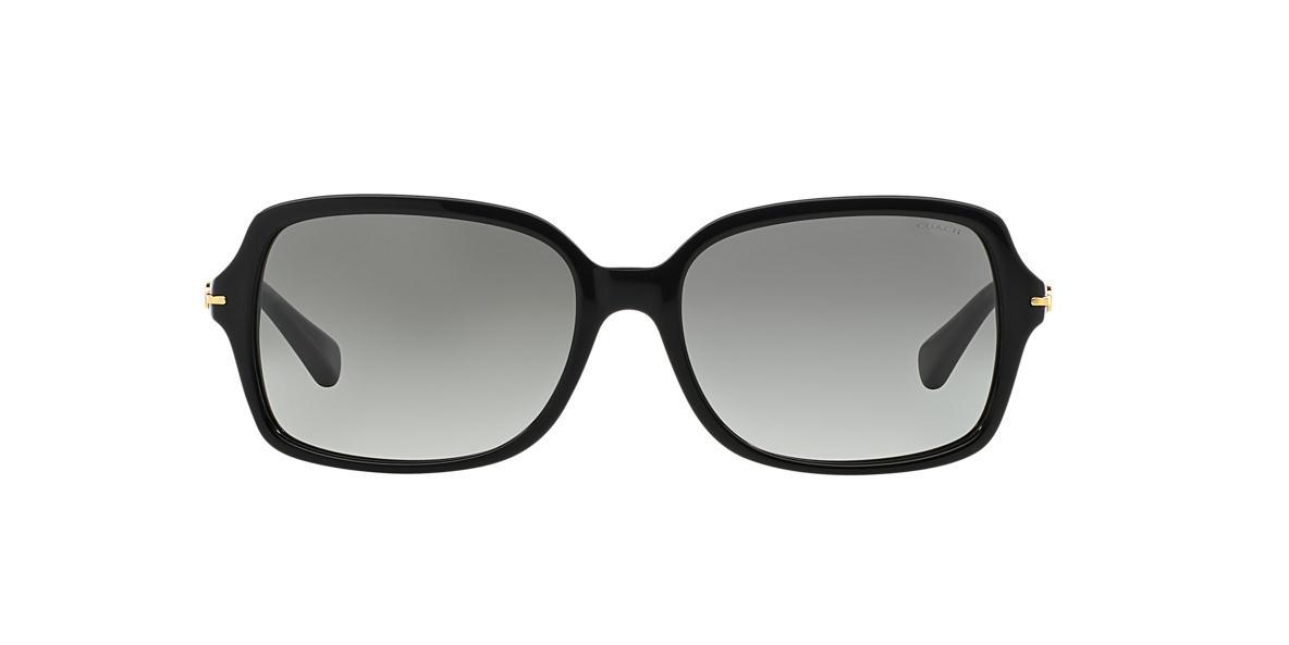 COACH Black HC8116 56 Grey lenses 56mm