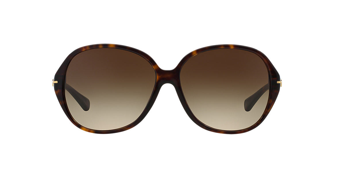 COACH Tortoise HC8118 60 L089 BAILEY Brown lenses 60mm