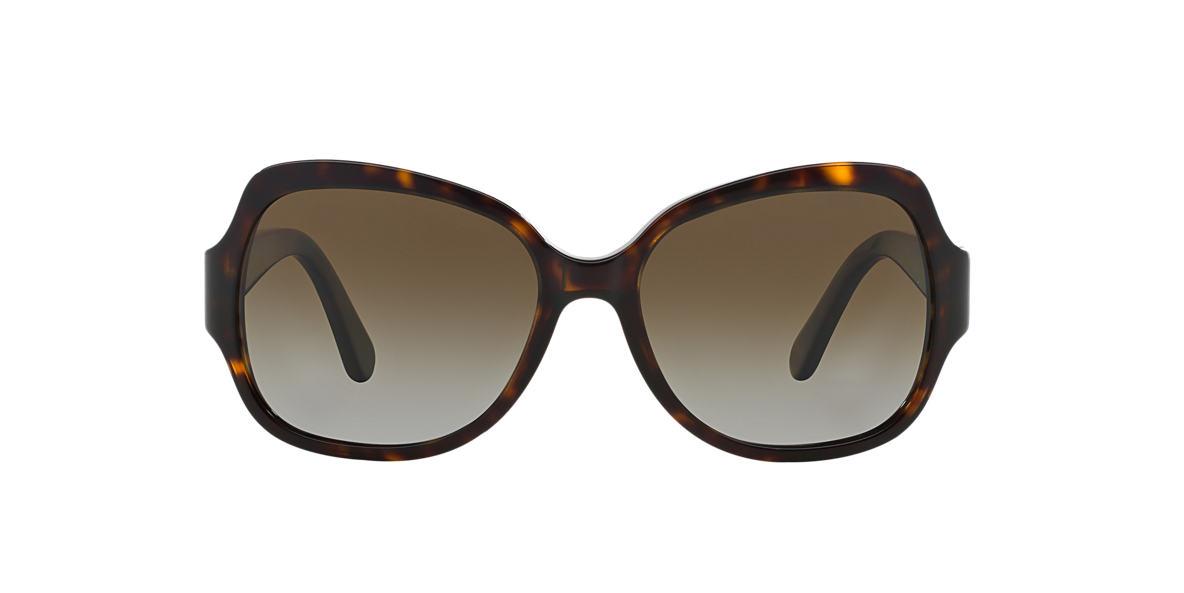 TORY BURCH Tortoise TY7059 Brown polarized lenses 57mm