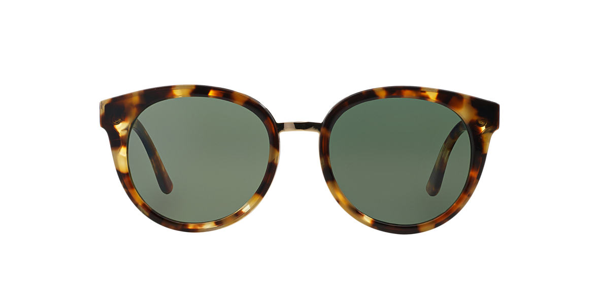 TORY BURCH Tortoise TY7062 Green polarized lenses 53mm