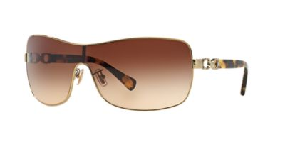 NEW SUNGLASSES COACH CORT HC7046 in Gold eBay