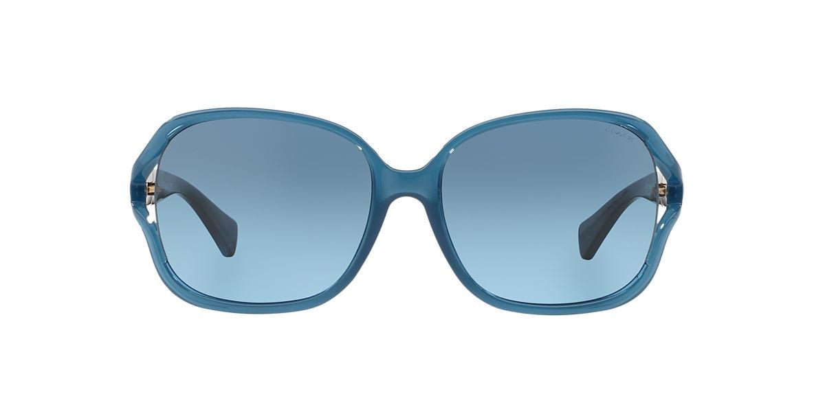 COACH Blue HC8121 59 L095 CARROLL Grey lenses 59mm
