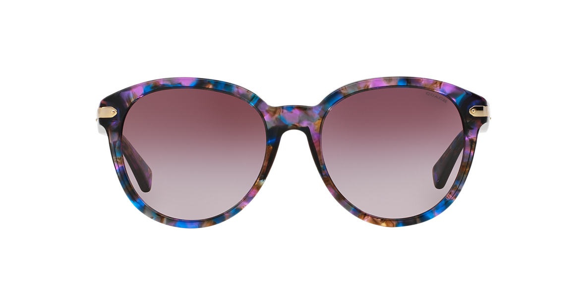 NEW SUNGLASSES COACH UPTOWN HC8140 in Pink/Purple