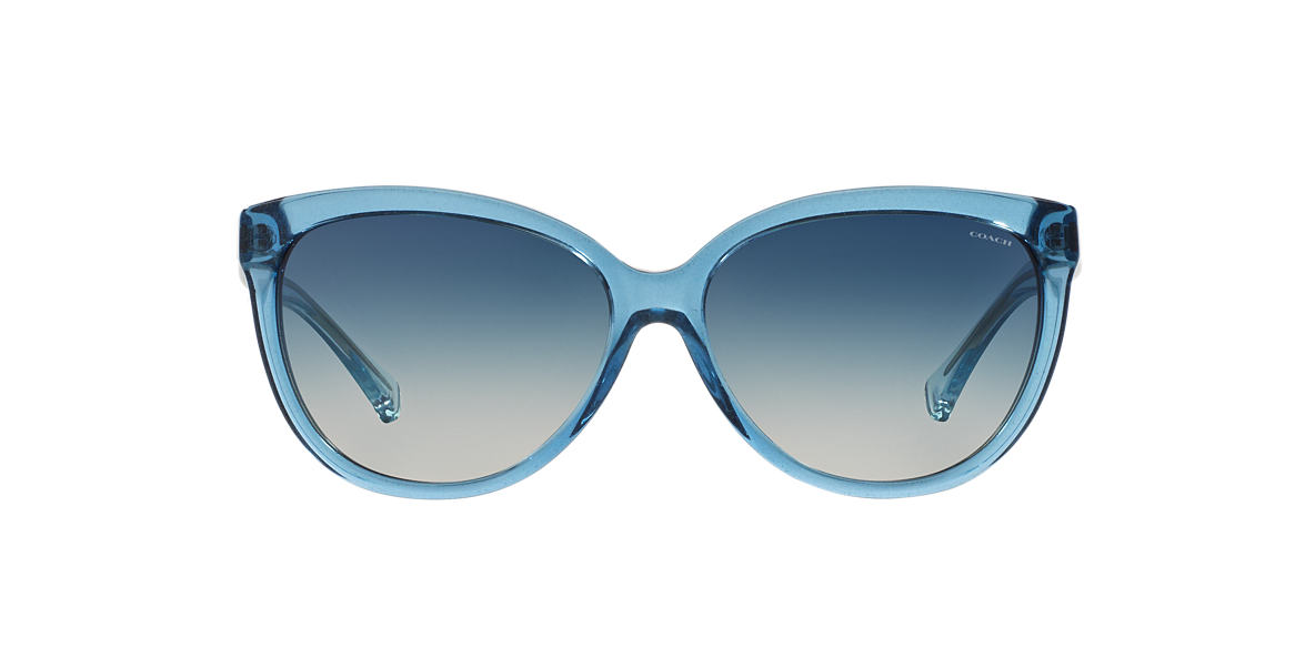 COACH Blue HC8153 57 L135 Blue lenses 57mm
