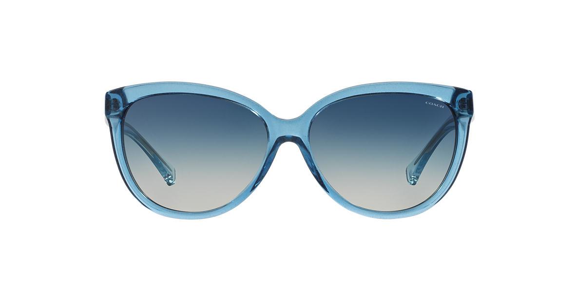 COACH Blue HC8153 57 L135 Blue lenses 57mm