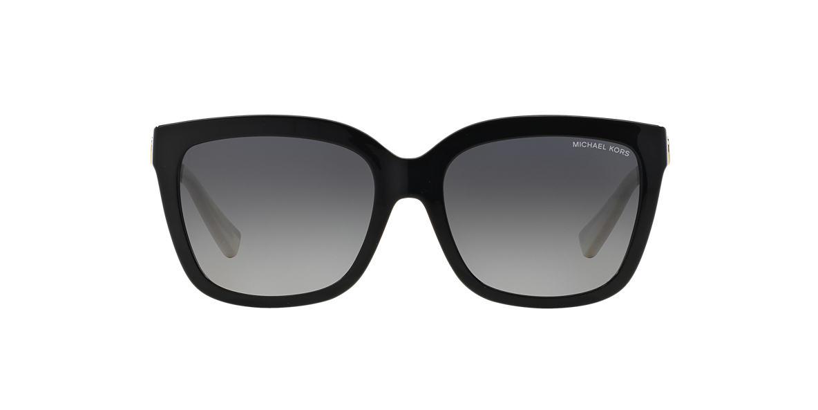 MICHAEL KORS Black Shiny MK6016 54 SANDESTIN Grey polarized lenses 54mm