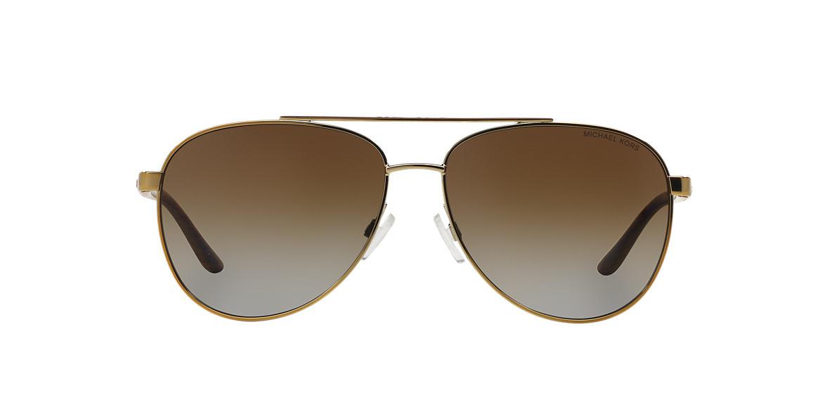 MICHAEL KORS Gold MK5007 59 HVAR Brown polarized lenses 59mm