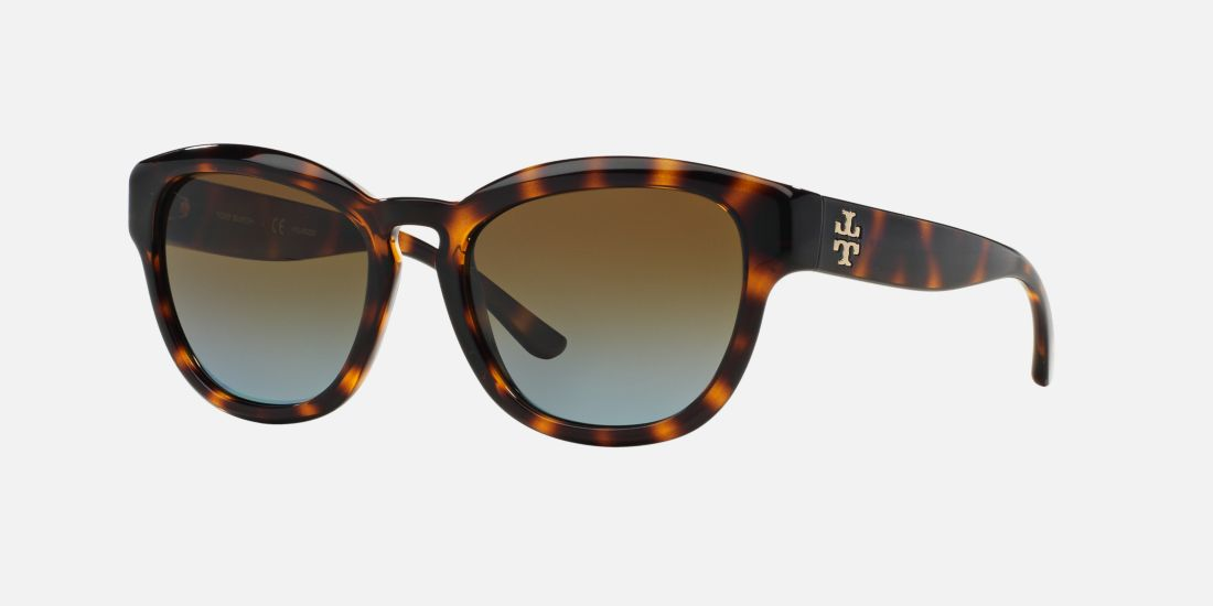 tory burch ty9040 53 brown tortoise polarized sunglasses. Black Bedroom Furniture Sets. Home Design Ideas