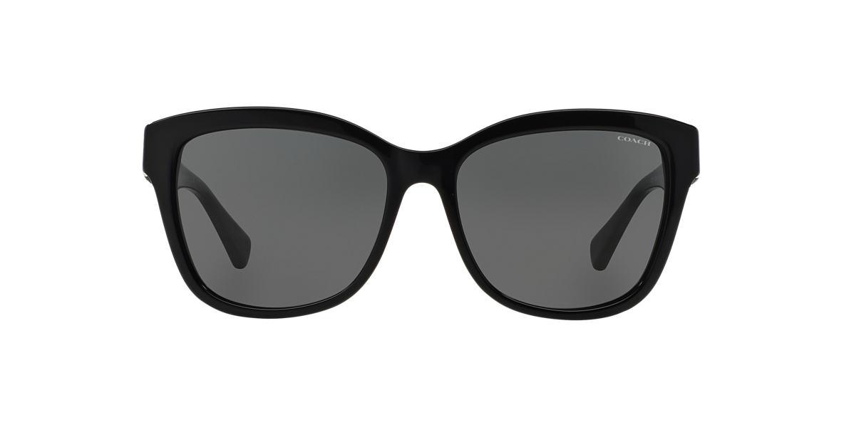 COACH Black HC8156Q Grey lenses 59mm
