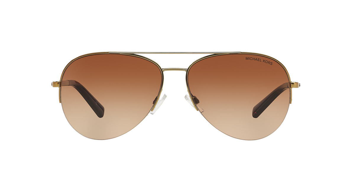 MICHAEL KORS Silver MK1001 59 GRAMERCY Brown lenses 59mm