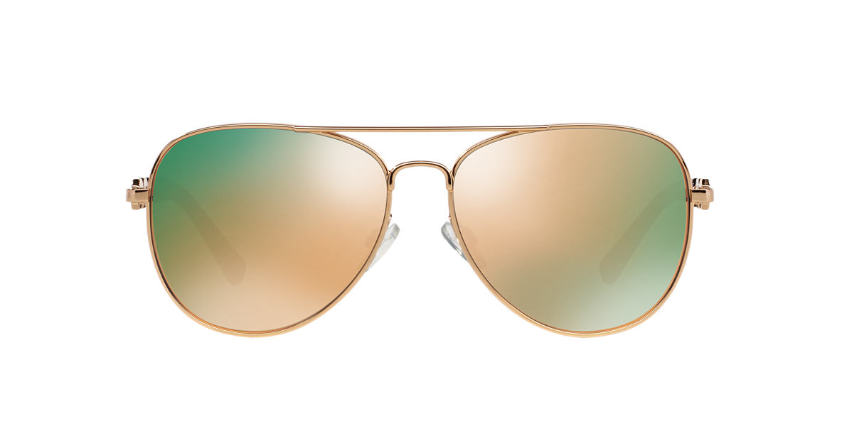 MICHAEL KORS Pink MK1003 58 FIJI Gold lenses 58mm