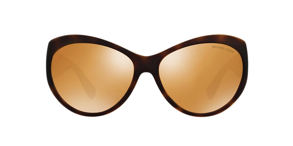 MICHAEL KORS Tortoise Matte MK2002 60 WAIKIKI Orange lenses 60mm