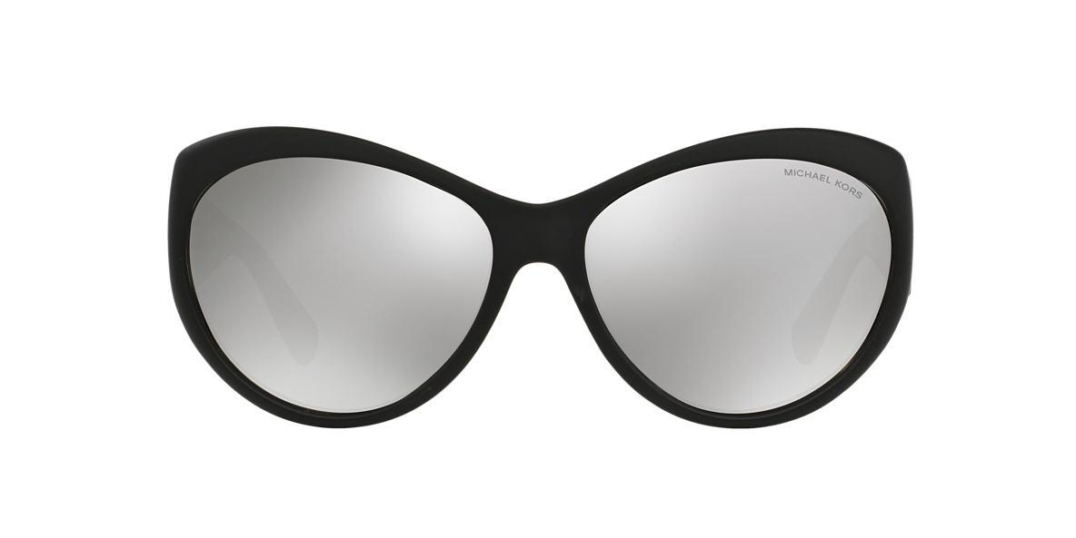MICHAEL KORS Black Matte MK2002 60 WAIKIKI Silver lenses 60mm