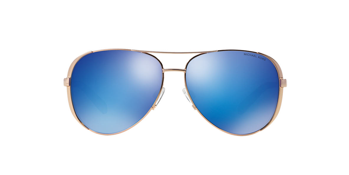 MICHAEL KORS Gold MK5004 Blue lenses 59mm