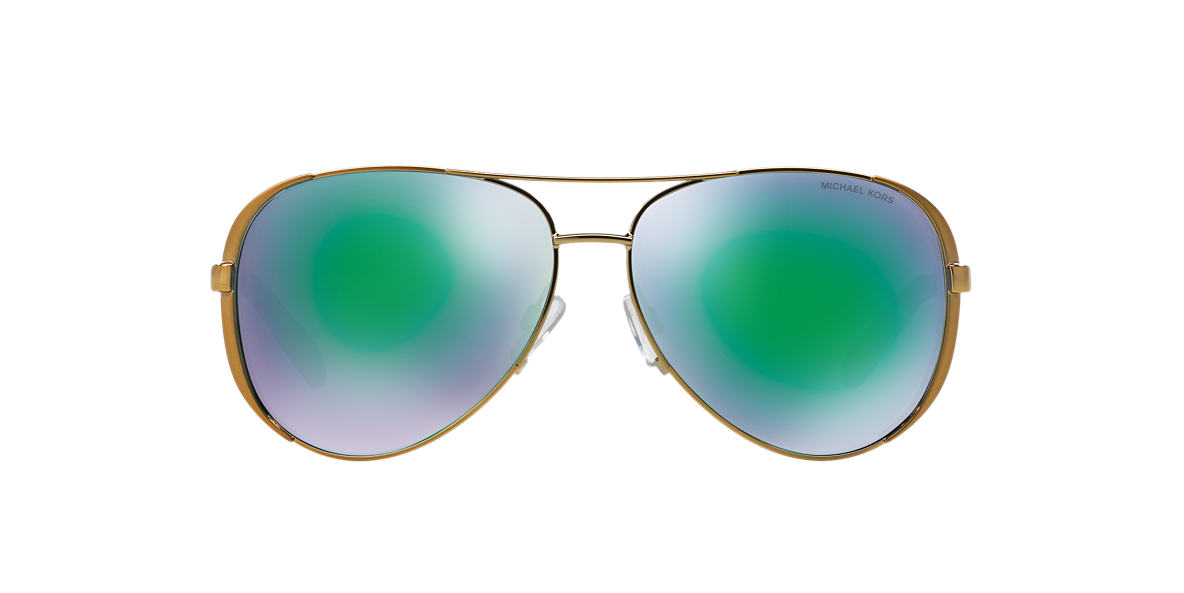 MICHAEL KORS Gold MK5004 Green lenses 59mm